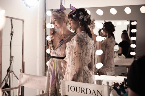 Karlie Kloss & Jourdan Dunn