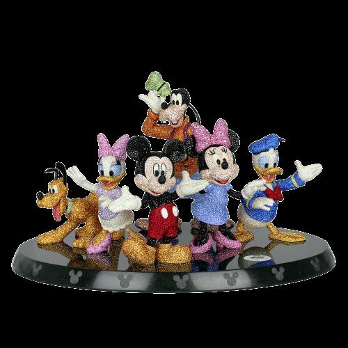 Mickey & Friends Limited Edition SWAROVSKI 90TH ANNIVERSARY