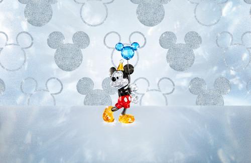 Mickey Mouse Visual SWAROVSKI 90TH ANNIVERSARY